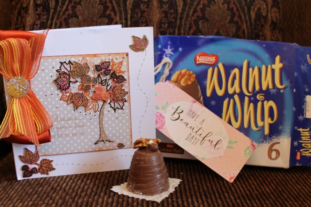 Walnut Whips & Handmade Card.JPG