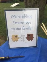 Baby Celebration 1 S'more Table