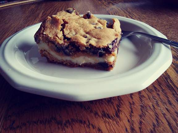 Chocolate Chip Cheese Bar