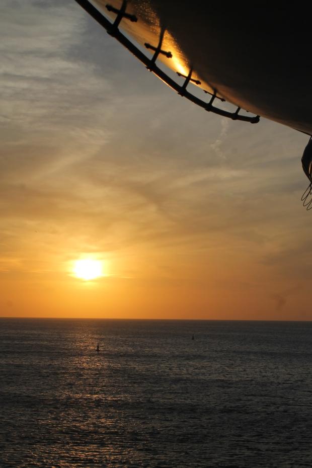 IMG_5218 Sunset in the Yucatan Pennisula