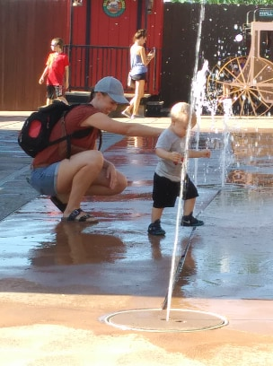 Wall Drug Backyard Splash Pad